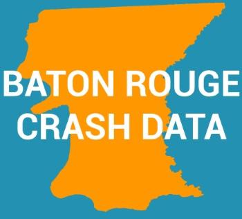 Baton Rouge crash data graphic
