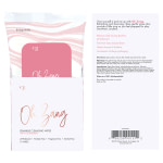 Crazy Girl Oh Zang 10pc Disp Stimulating Wipes