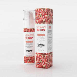 Exsens Warming Massage Oil 50 ml. – Strawberry