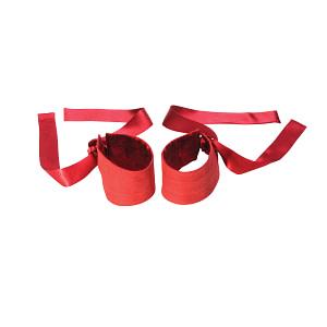 LELO Etherea Silk Cuffs – Red