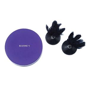 Rianne S Pasties Birds – Black