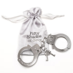 Fifty Shades – You Are Mine Metal Handcuffs
