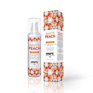 Exsens Warming Massage Oil 50 ml. – White Peach