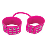 Ouch Silicone Cuffs – Pink