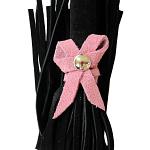 Love Knot Mini Flogger w- Bow – Black w-Pink Bow