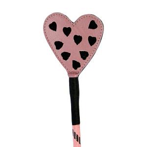 Heart Crop – Pink  Black