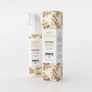 Exsens Warming Massage Oil 50 ml. – Hot Vanilla